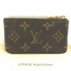 LOUIS VUITTON Pochette Clef Coin Purse